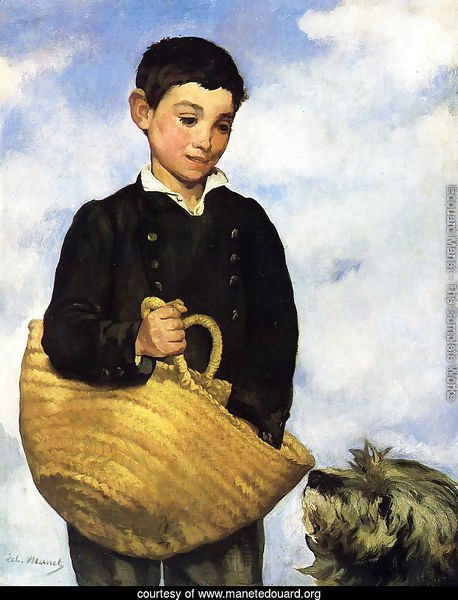 Boy with Dog