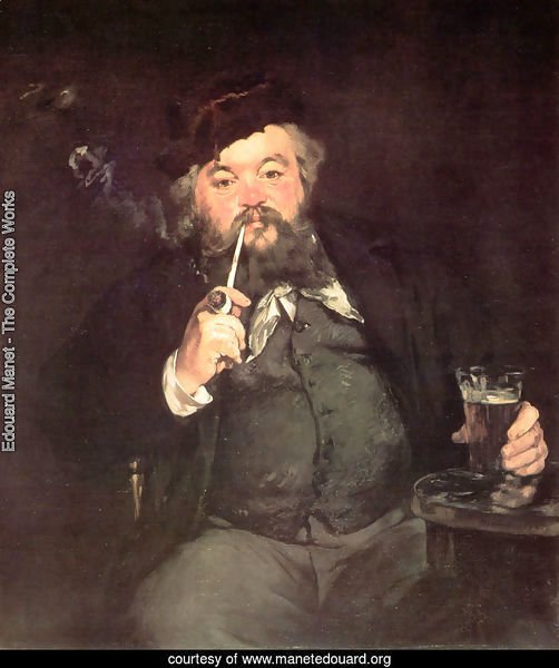 Le Bon Bock (A Good Glass of Beer) (or Study of Émile Bellot)