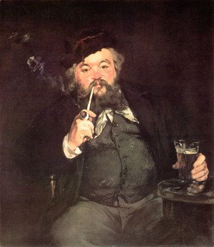 Edouard Manet - Le Bon Bock (A Good Glass of Beer) (or Study of Émile Bellot)