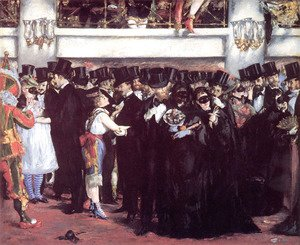 Edouard Manet - Masked Ball at the Opera