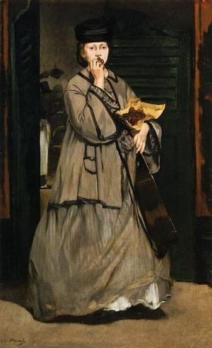 Edouard Manet - The Street Singer