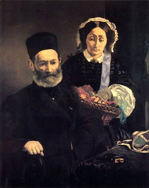 Edouard Manet - M. and Mme Auguste Manet