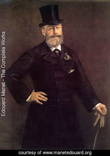 Edouard Manet - Portrait of Antonin Proust