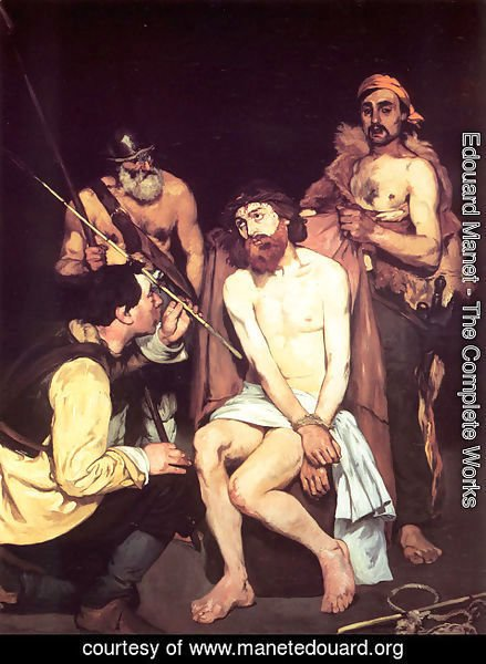 Edouard Manet - Jesus Mocked by the Soldiers