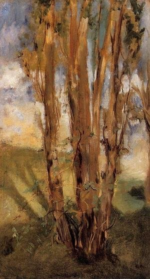 Edouard Manet - Study of Trees