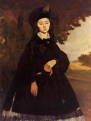 Edouard Manet - Portrait of Madame Brunet
