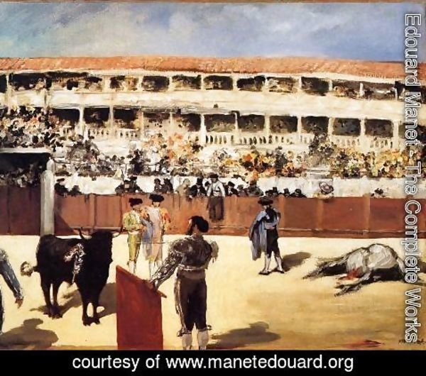 Edouard Manet - The Bullfight