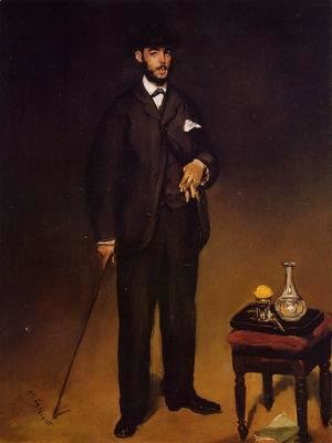 Portrait of Theodore Duret