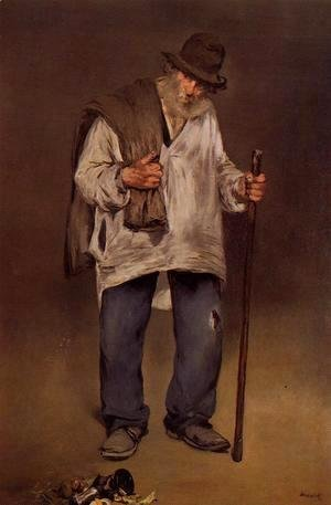 Edouard Manet - The Ragpicker