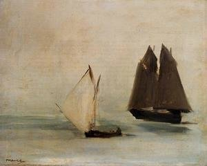 Edouard Manet - Seascape