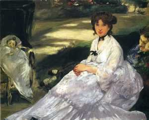 Edouard Manet - In the Garden