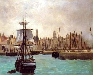 Edouard Manet - The Port of Calais