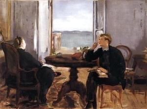 Edouard Manet - Interior at Arcachon