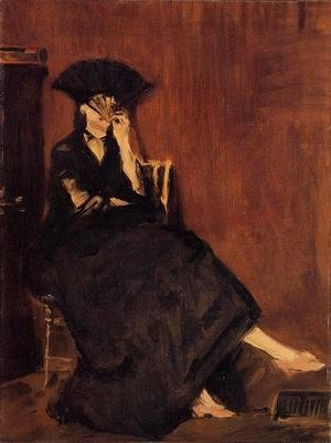 Edouard Manet - Berthe Morisot with a Fan