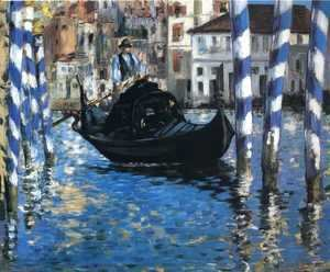Edouard Manet - The Grand Canal, Venice I