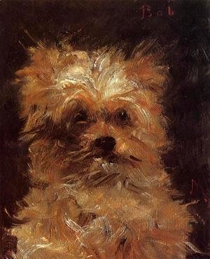 Edouard Manet - Head of a Dog, 'Bob'