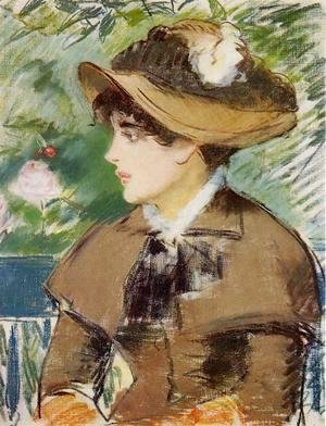 Edouard Manet - Young Girl on a Bench