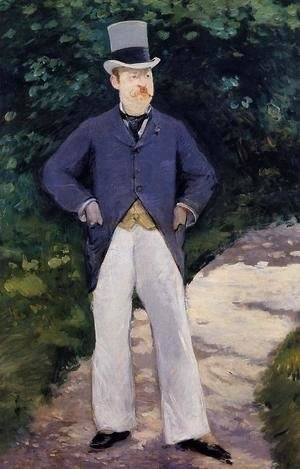 Edouard Manet - Portrait of Monsieur Brun