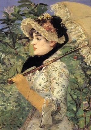 Edouard Manet - Jeanne: Spring