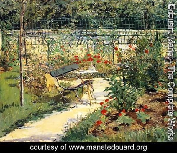 Edouard Manet - The Bench