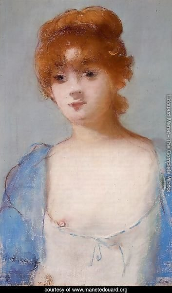 Young Woman in a Negligee