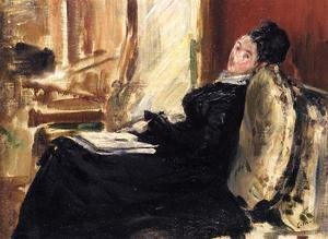 Edouard Manet - Young Woman with Book