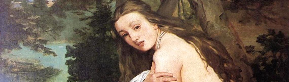 Edouard Manet - The Surprised Nymph