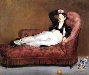 Edouard Manet - Young Woman Reclining