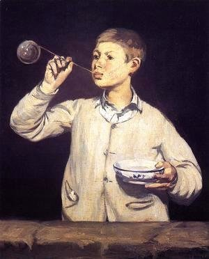 Edouard Manet - Soap Bubbles