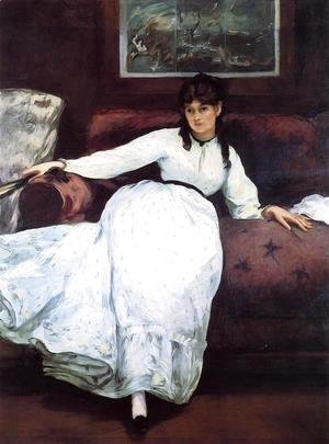 Edouard Manet - Repose: Portrait of Berthe Morisot