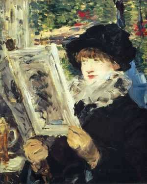 Edouard Manet - Reading I