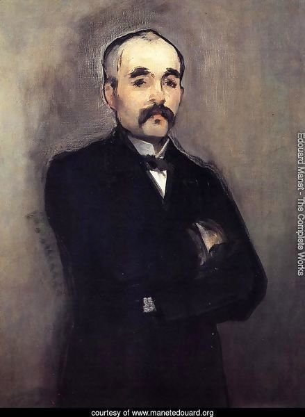 Portrait of Clemenceau