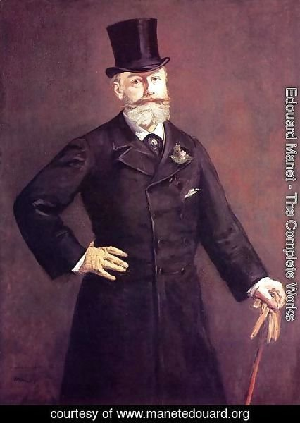 Edouard Manet - Portrait of M. Antonin Proust