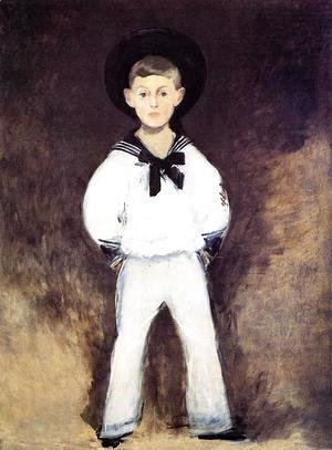 Edouard Manet - Portrait of Henry Bernstein as a Child
