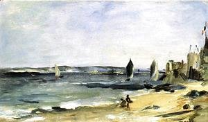 Edouard Manet - Seascape at Arcachon