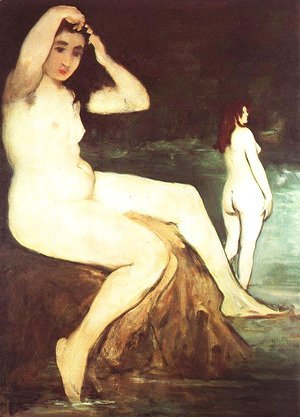 Edouard Manet - Bathers on the Seine