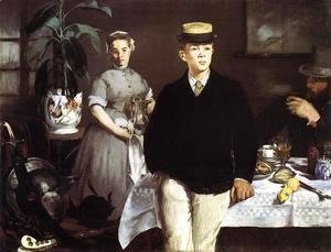 Edouard Manet - The Luncheon in the Studio