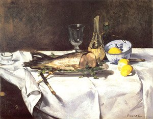 Edouard Manet - The Salmon