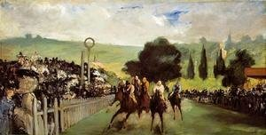 Edouard Manet - Races at Longchamp
