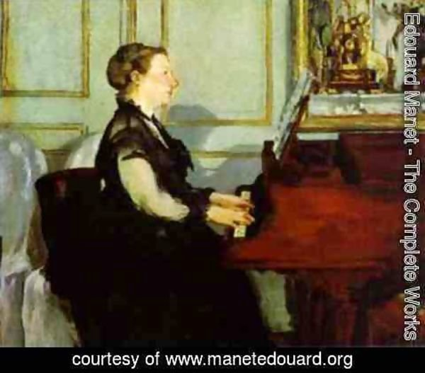 Edouard Manet - Madame Manet at the Piano