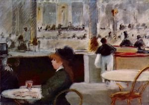 Edouard Manet - Interior of a Cafe