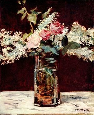 Edouard Manet - Roses et Lilas 1883