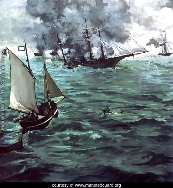 The Battle of the Kearsarge and Alabama