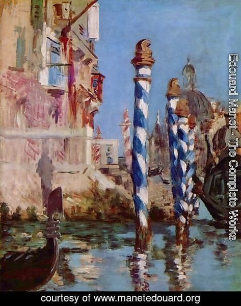 Edouard Manet - The Grand Canal, Venice