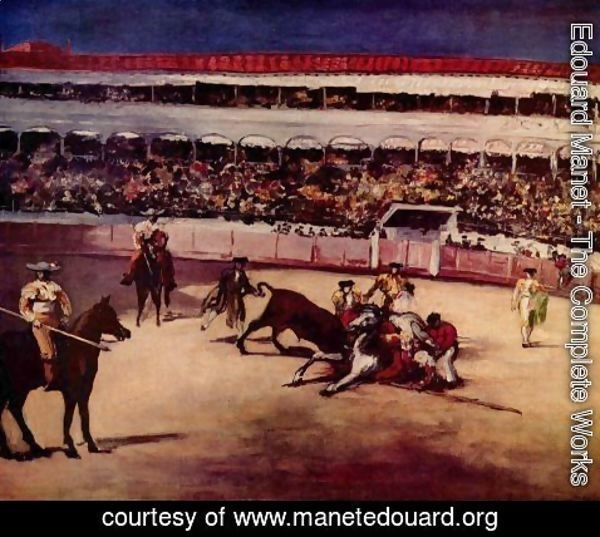 Edouard Manet - Bullfighting