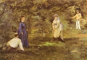 Edouard Manet - Croquet-game