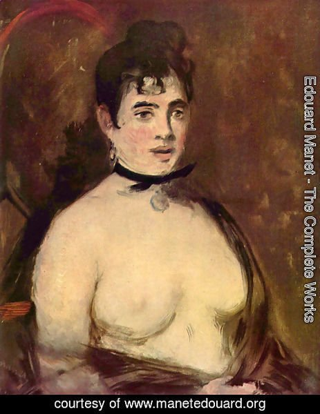 Edouard Manet - Female Nude