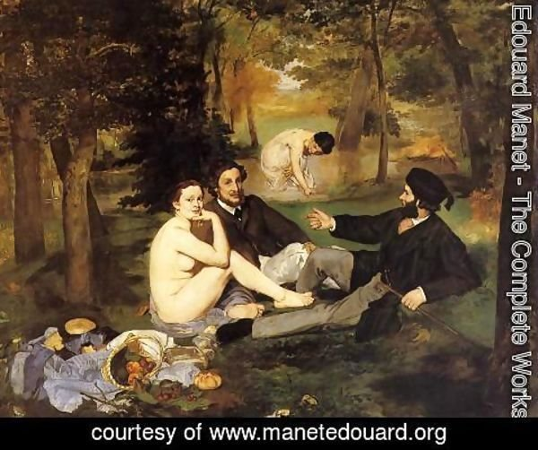 Edouard Manet - breakfast