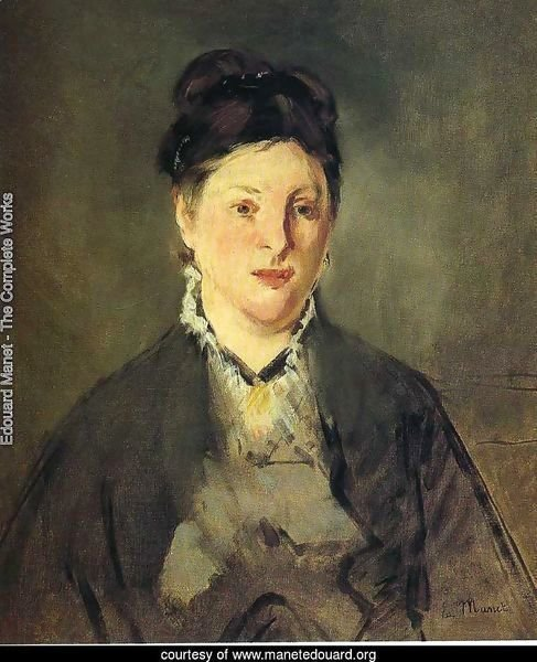 Portrait of Madame Manet