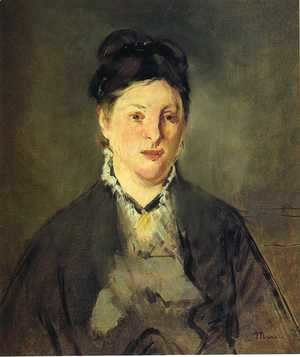 Edouard Manet - Portrait of Madame Manet